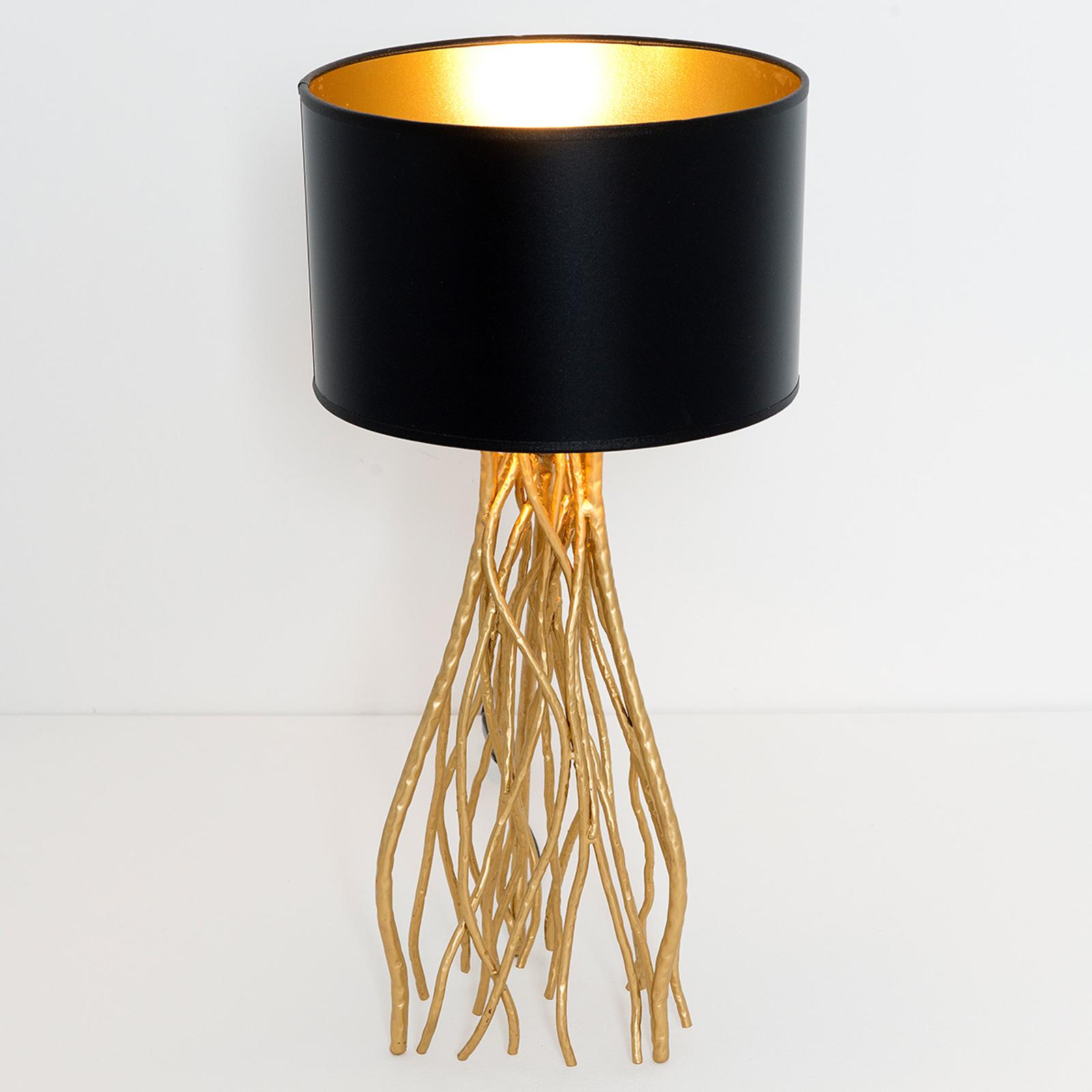 Acquista Lampada Da Tavolo Capri Rotonda Altezza 56 Cm Lampade It