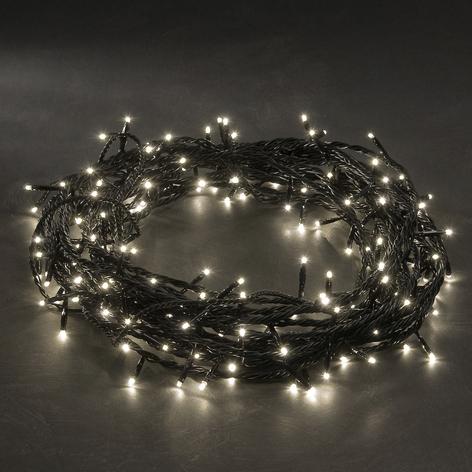 LED-microljusslinga varmvit 80-armad 10,5m