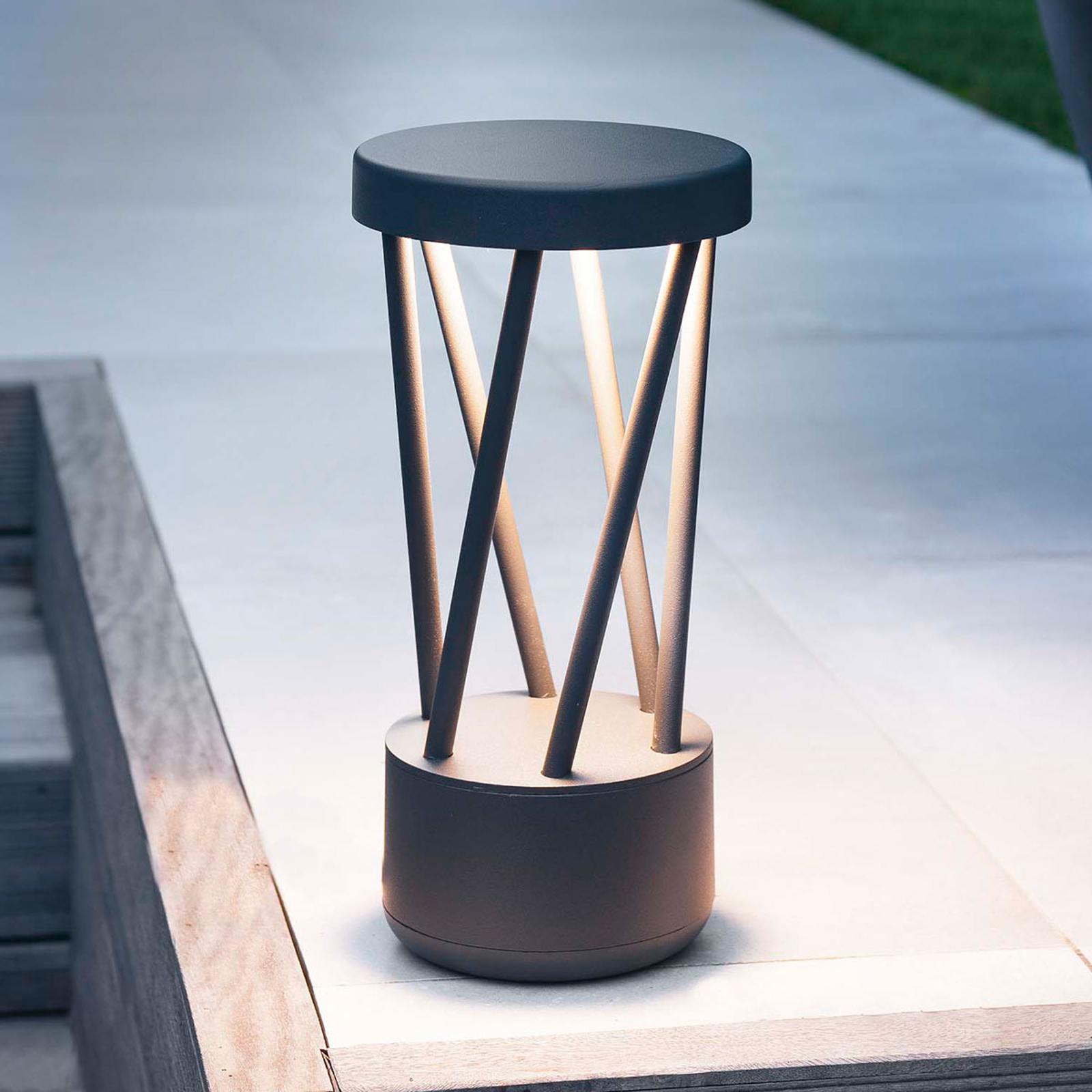 LED-Sockelleuchte Twist