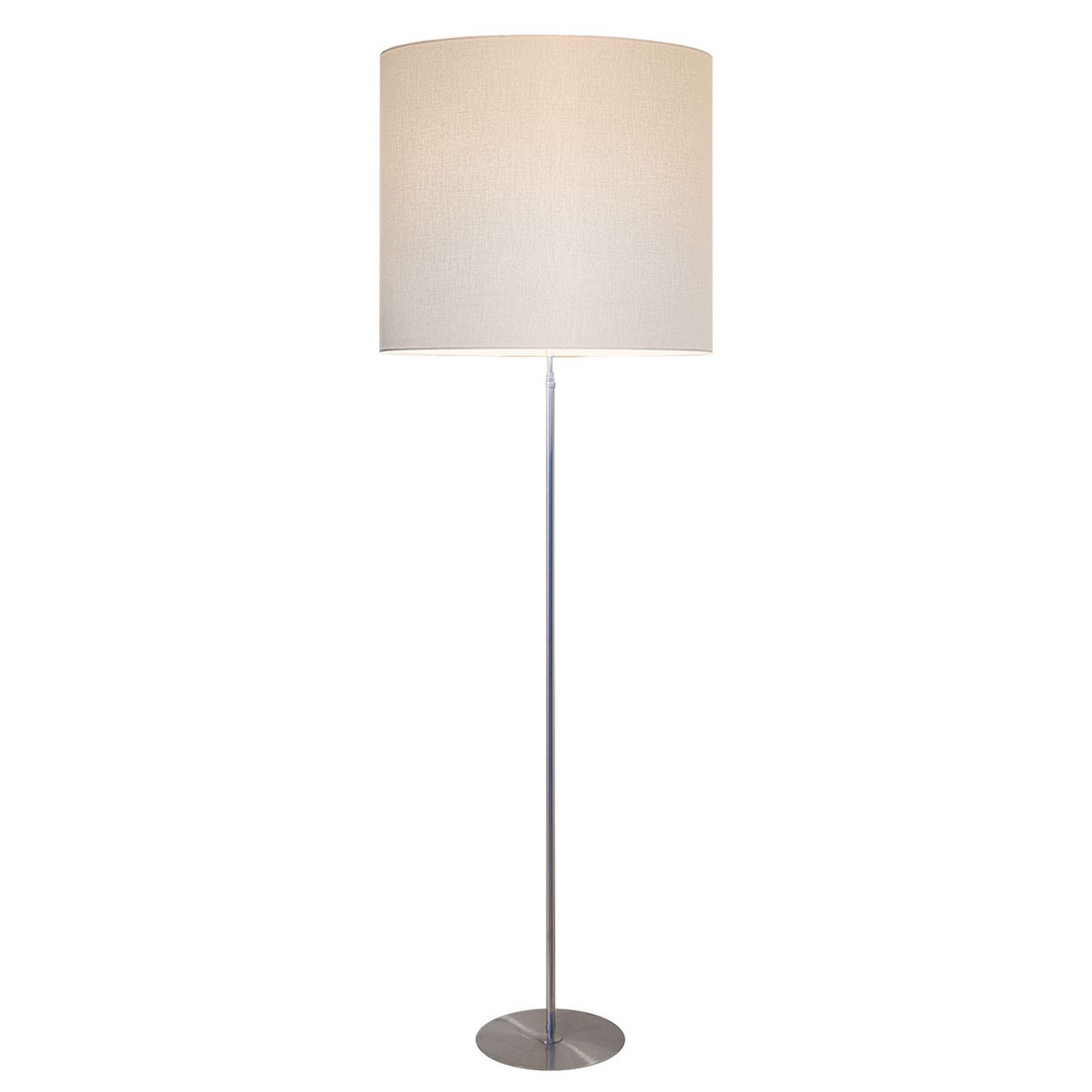 Nowoczesna lampa stojąca Tono beżowa