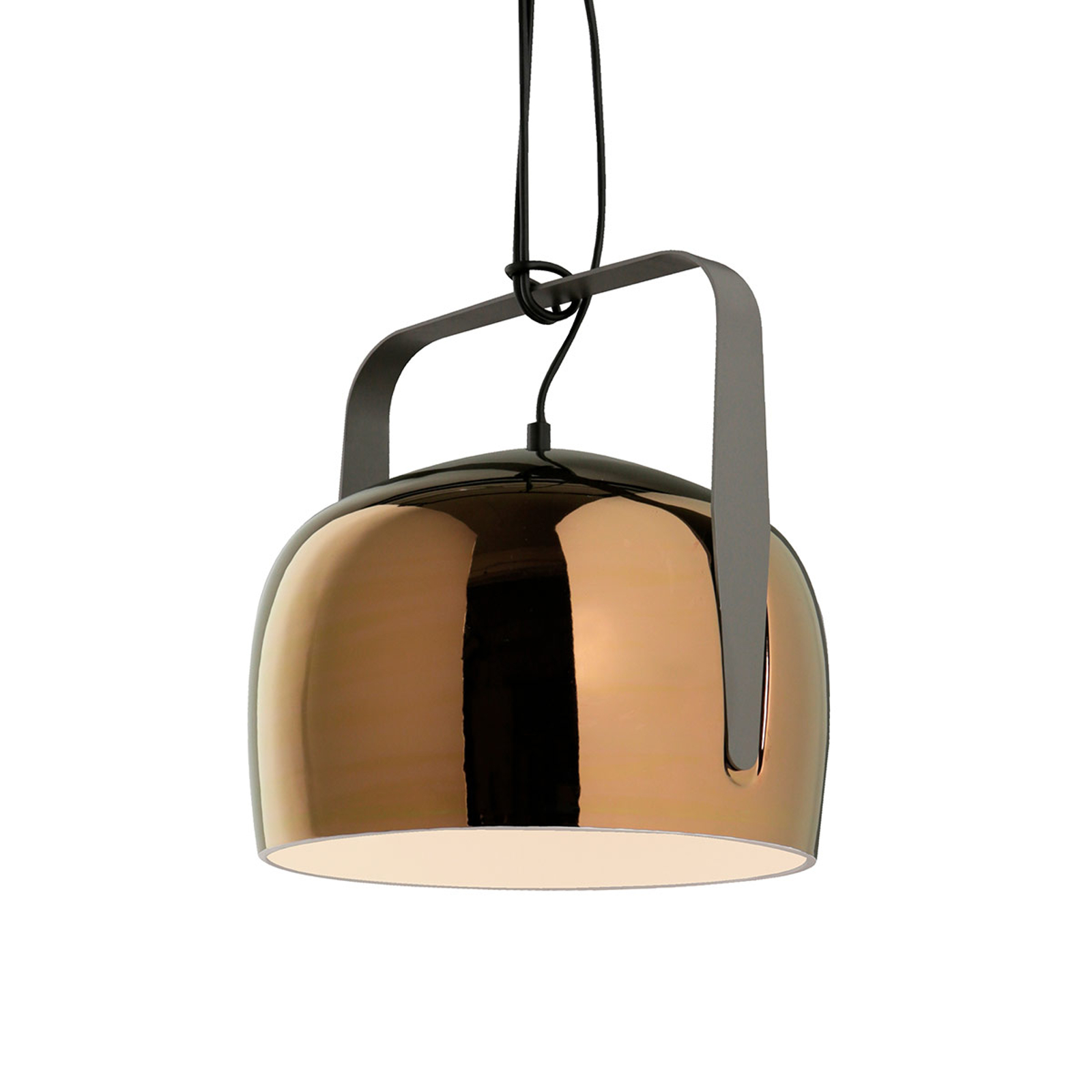 Karman Bag - suspension, 21 cm, bronze