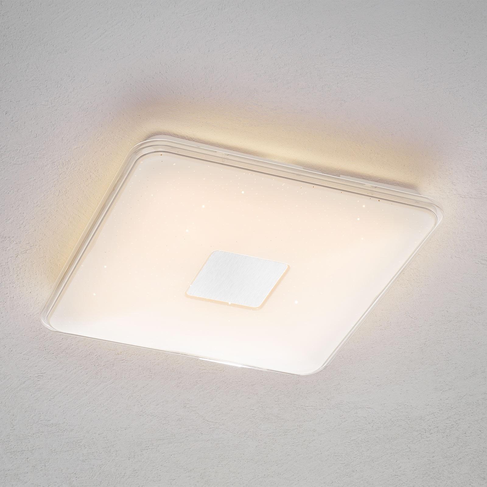 Kauko-ohjattava kulmikas LED-kattovalaisin Samurai