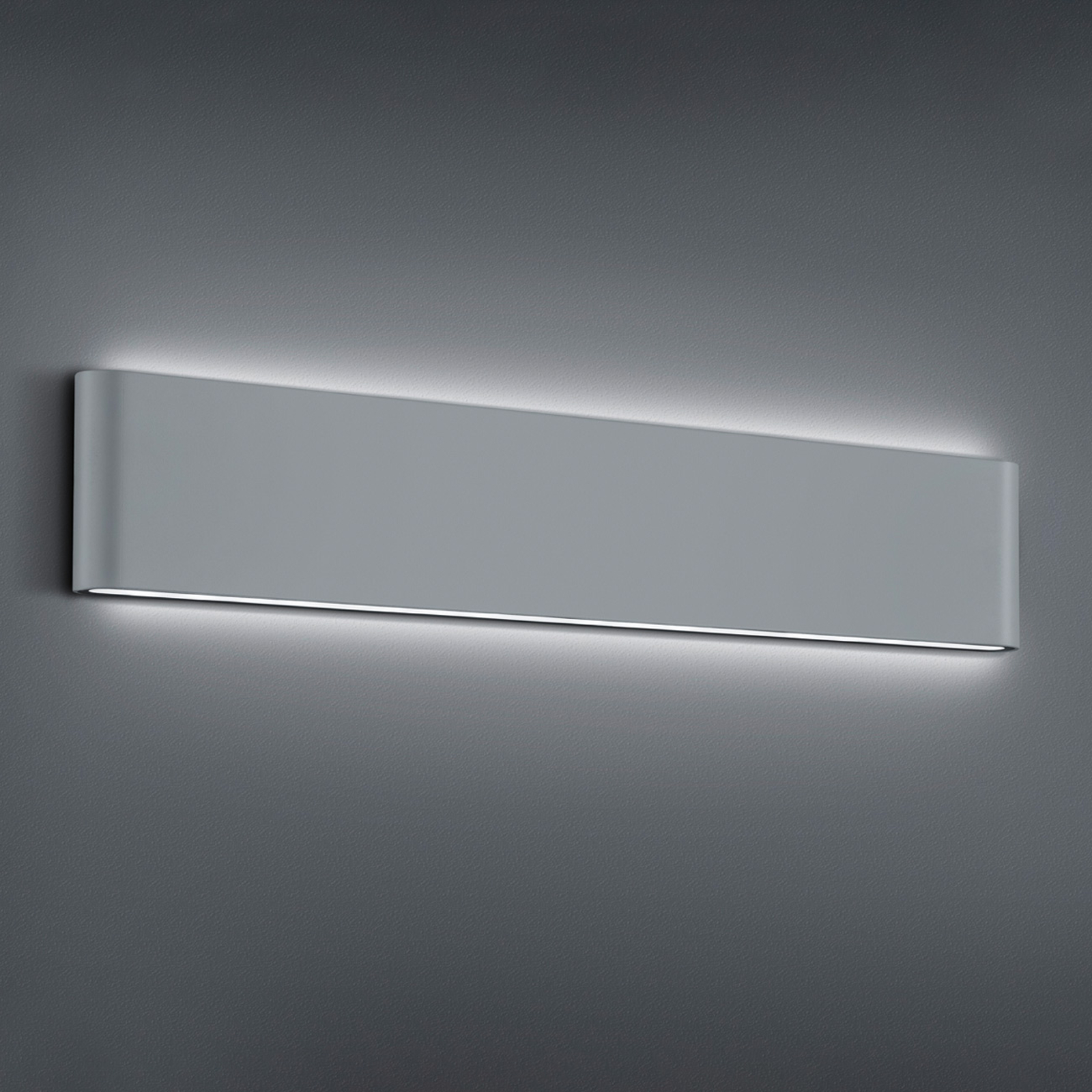 LED buitenwandlamp Thames II, titaniumkleuren