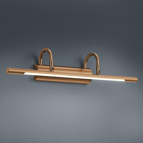 Applique a LED per quadri Lorena in ottone antico