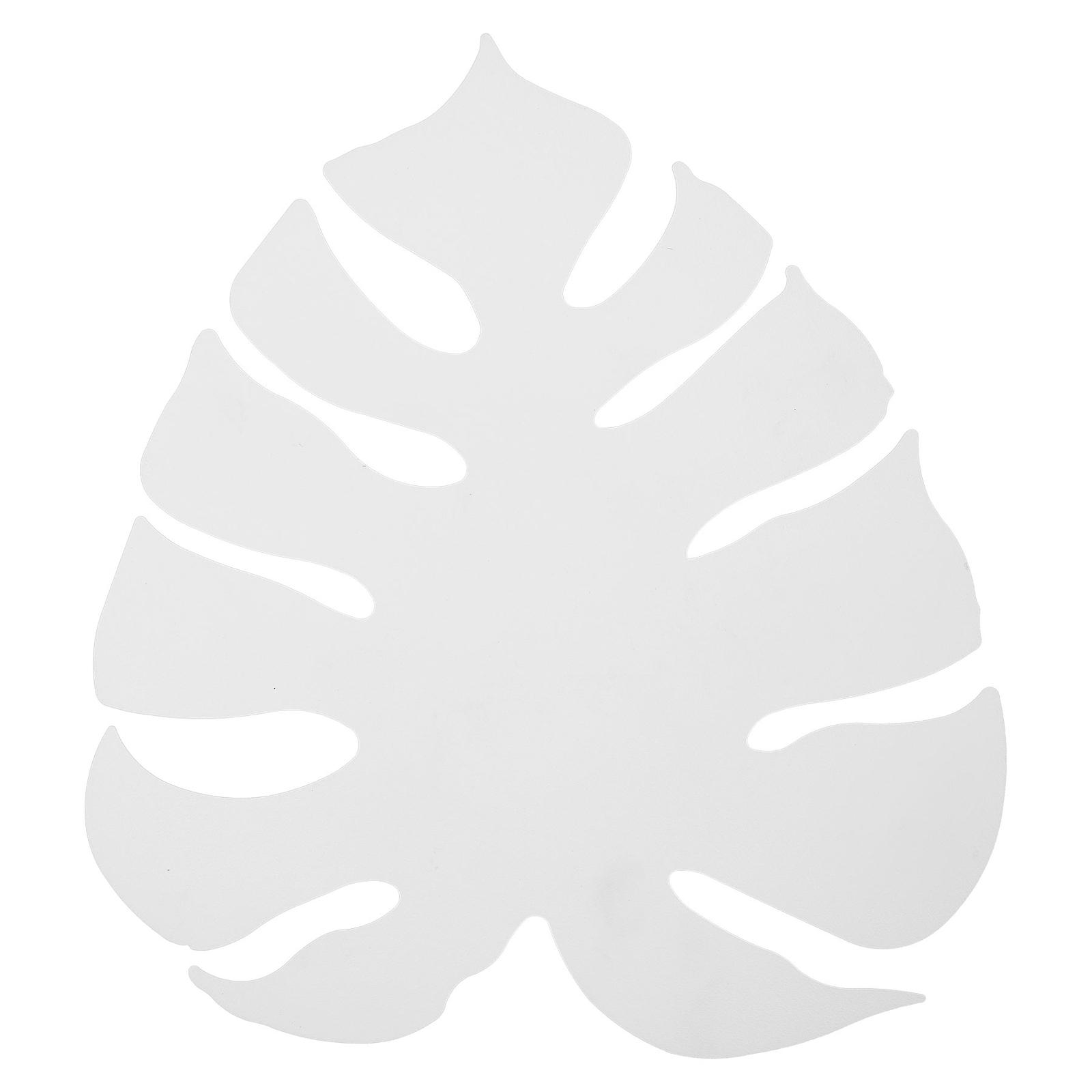 Kinkiet LED Monstera jako liść, biały