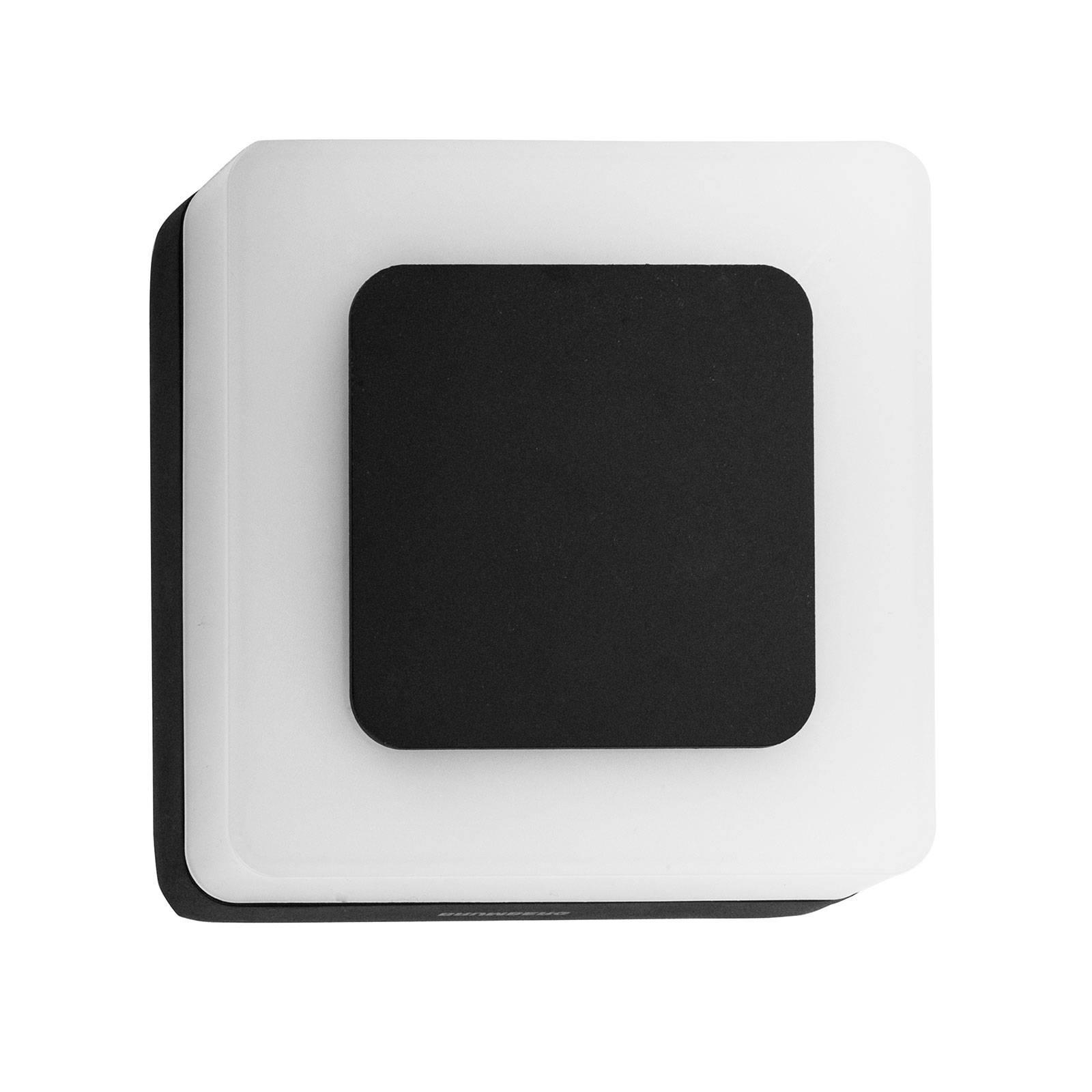 BRUMBERG 10034 LED-Außenwandleuchte eckig schwarz