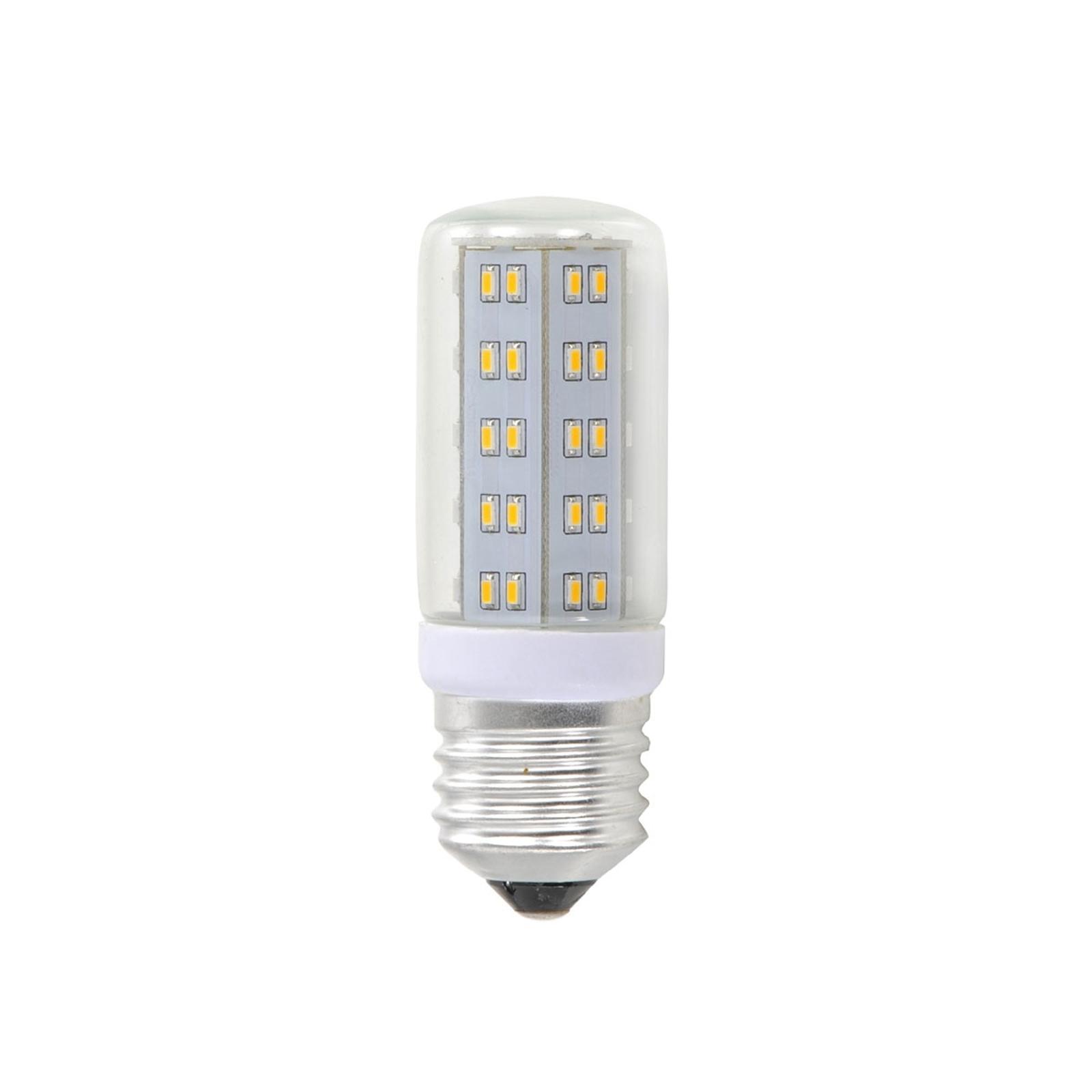 E9 9W LED Lampe in Röhrenform klar mit 9 LEDs