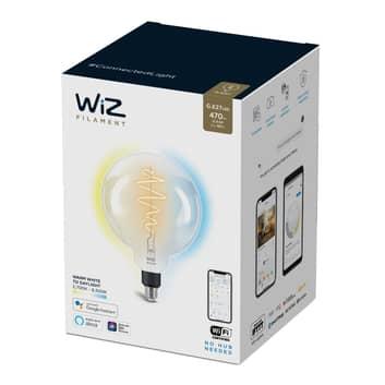 WiZ LED-Filament G200 E27 6,5W 2.700-6.500K klar