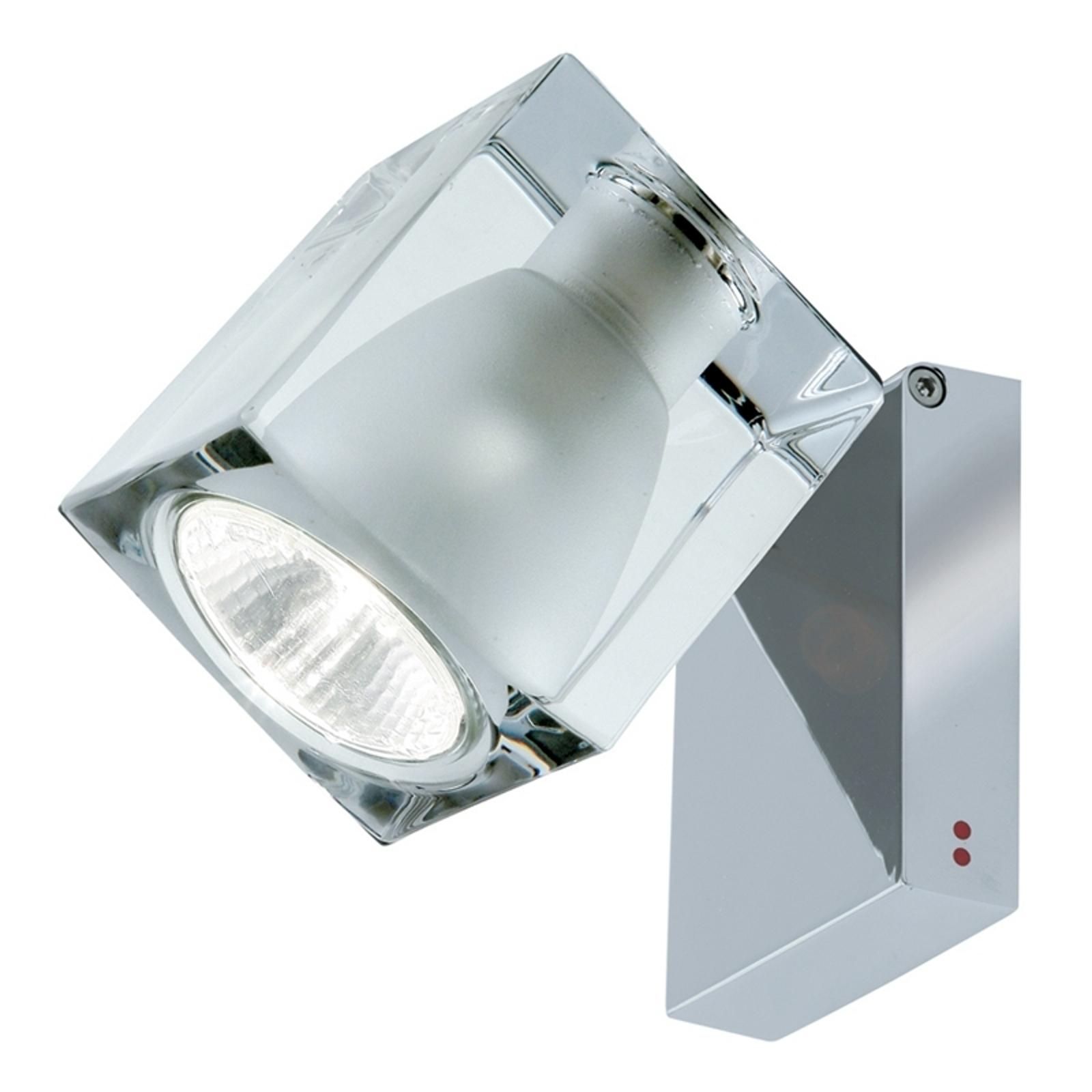 Reflektor ścienny CUBETTO GU10 przezroczysty