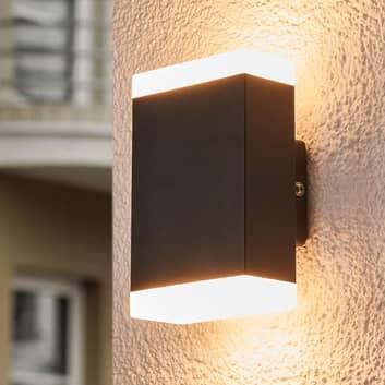 Aplique de pared LED atemporal Aya exteriores IP44