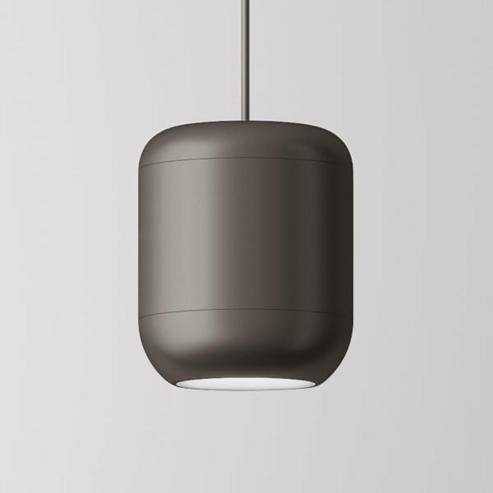 Axolight Urban sospensione LED 26 cm, nichel