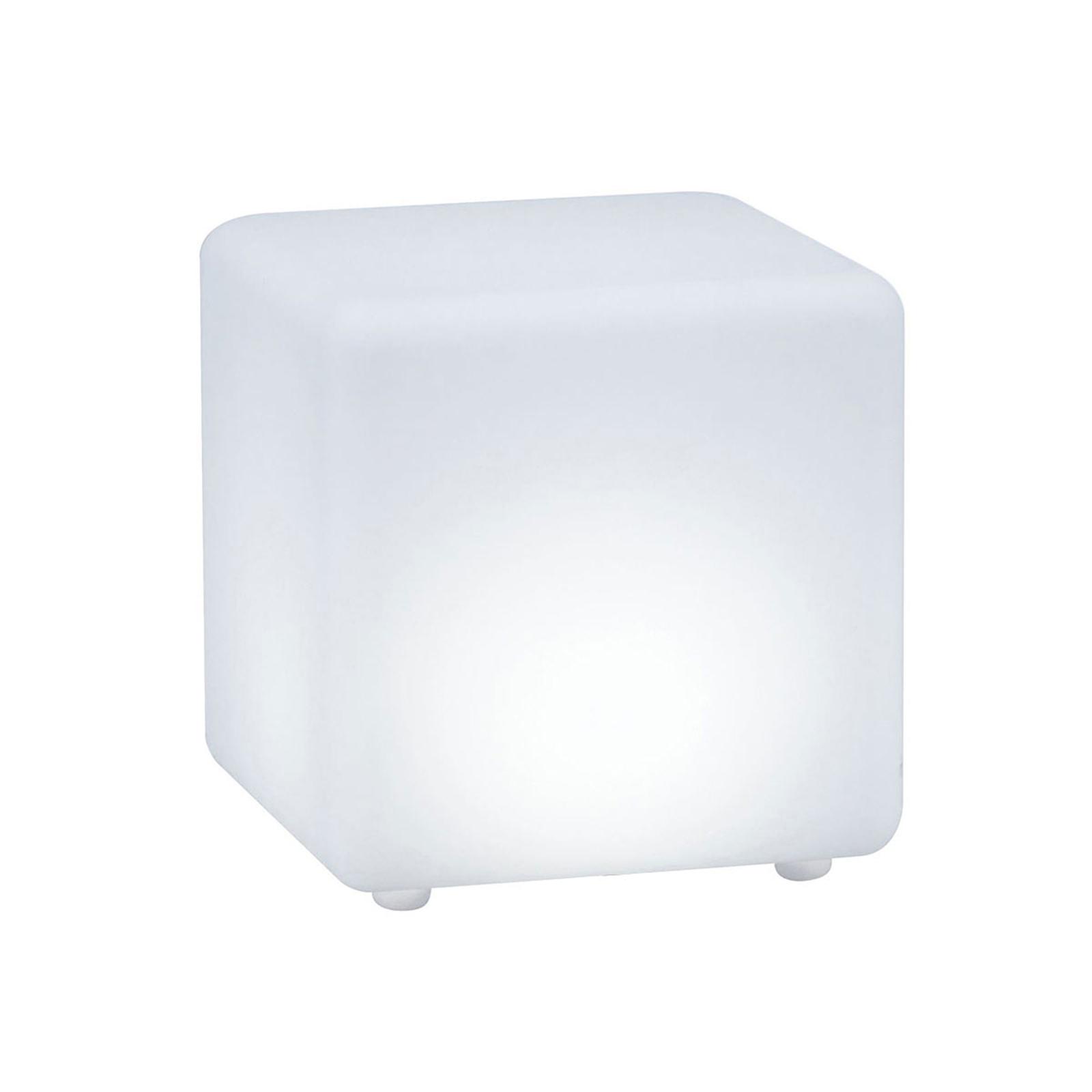 Paulmann Plug & Shine lampe déco Cube ZigBee, RGBW