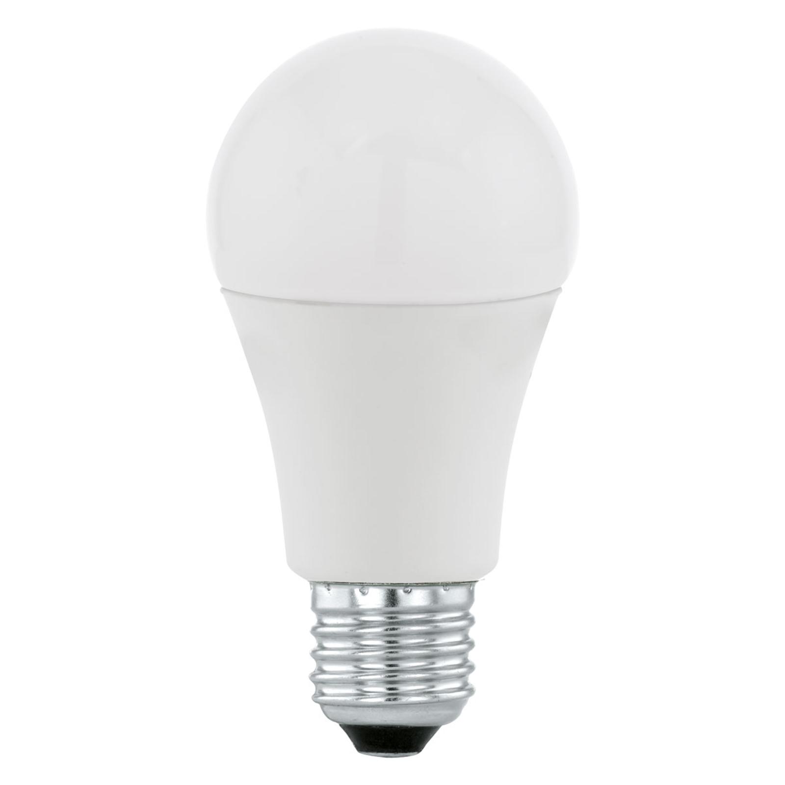 LED-pære E27 9,5W 3.000K med dag/nat-sensor