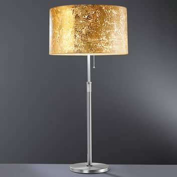 Loop stolní lampa s lístkovým zlatem