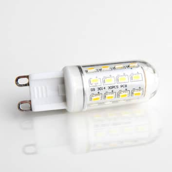 G9 3W 830 LED-lamp buisvormig transparant