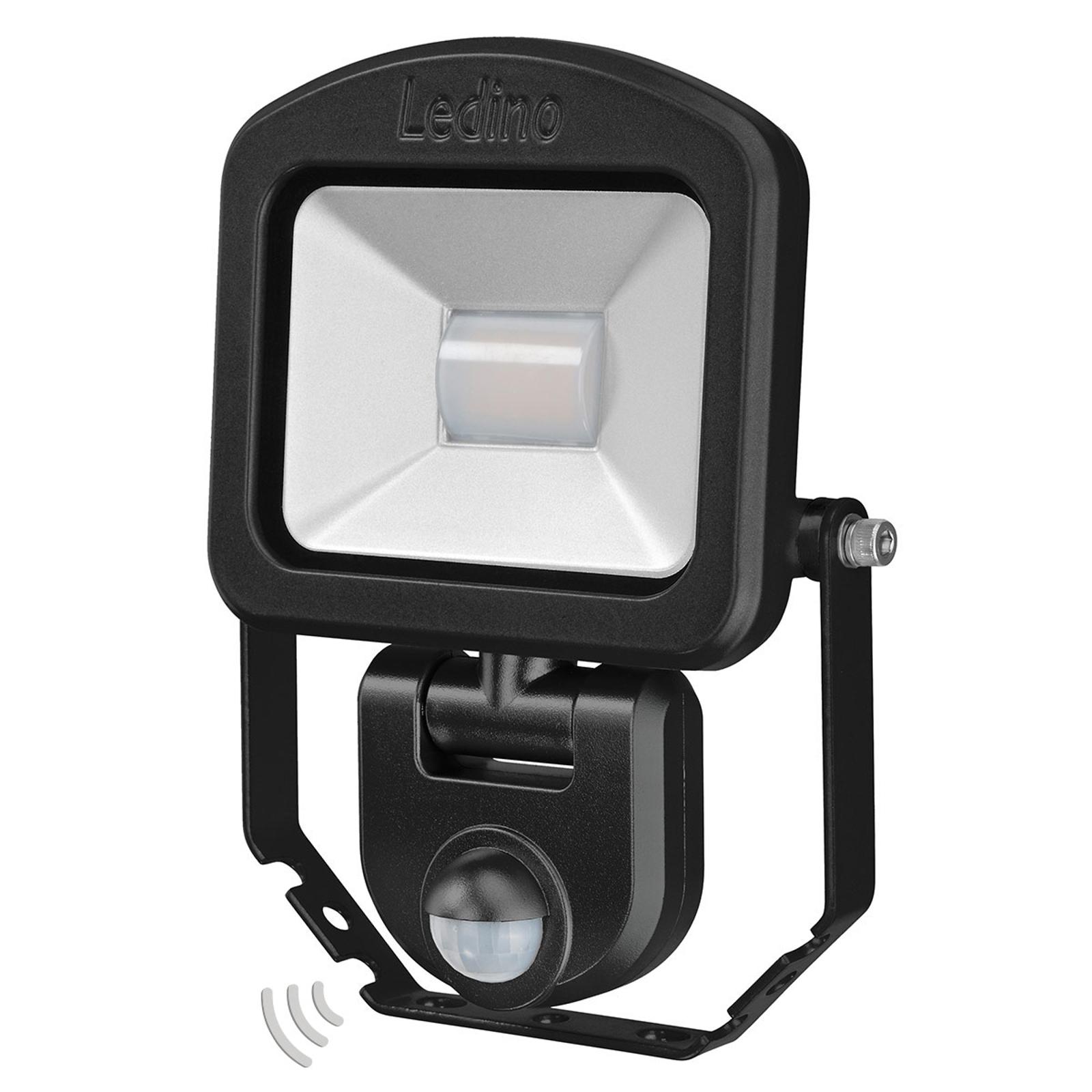 Strahler Charlottenburg Sensor schwarz 3.000K 10W