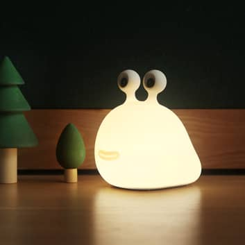 LED-nattlampe Momo Moon med batteri og USB