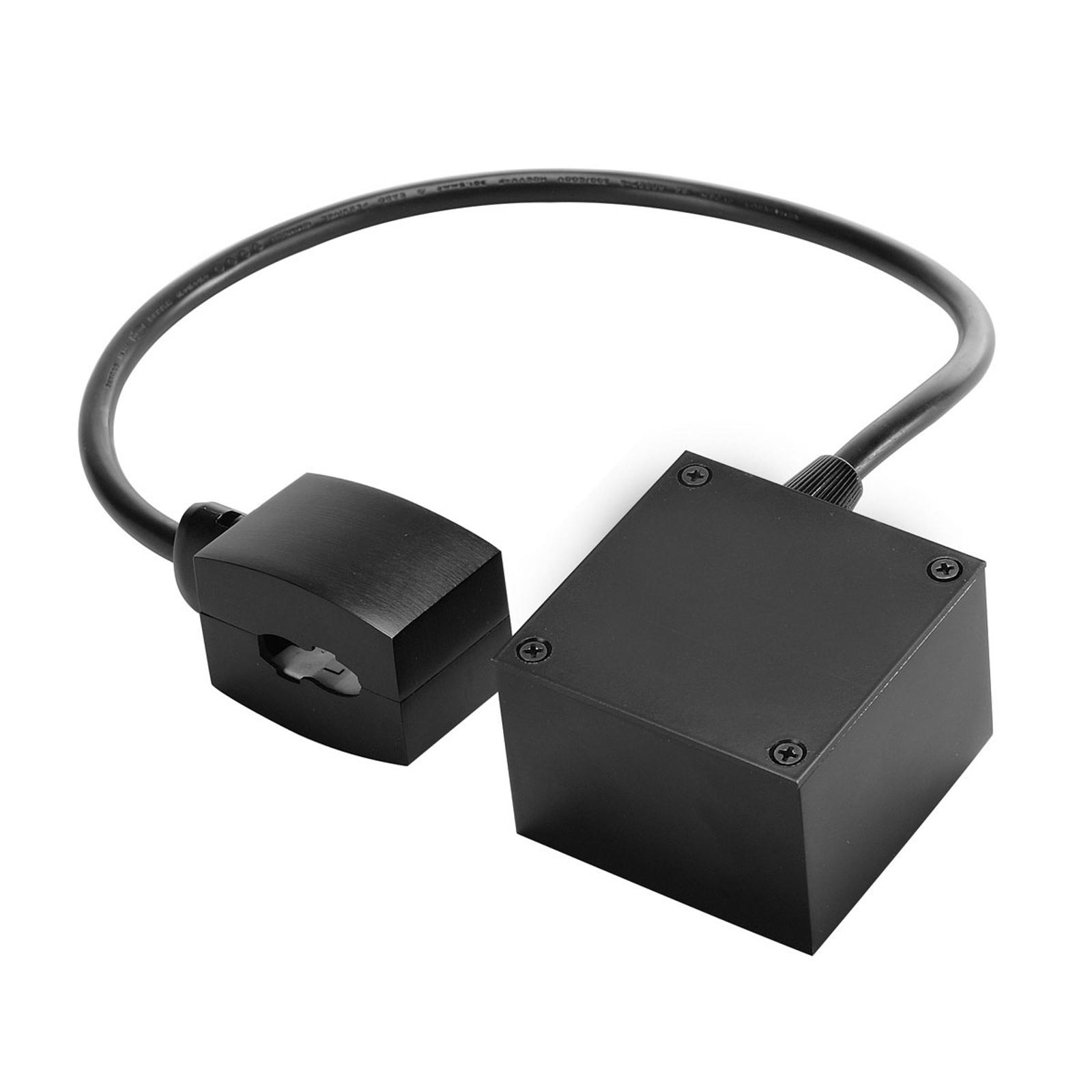 SLV EASYTEC II strømforsyning HV-skinne, sort