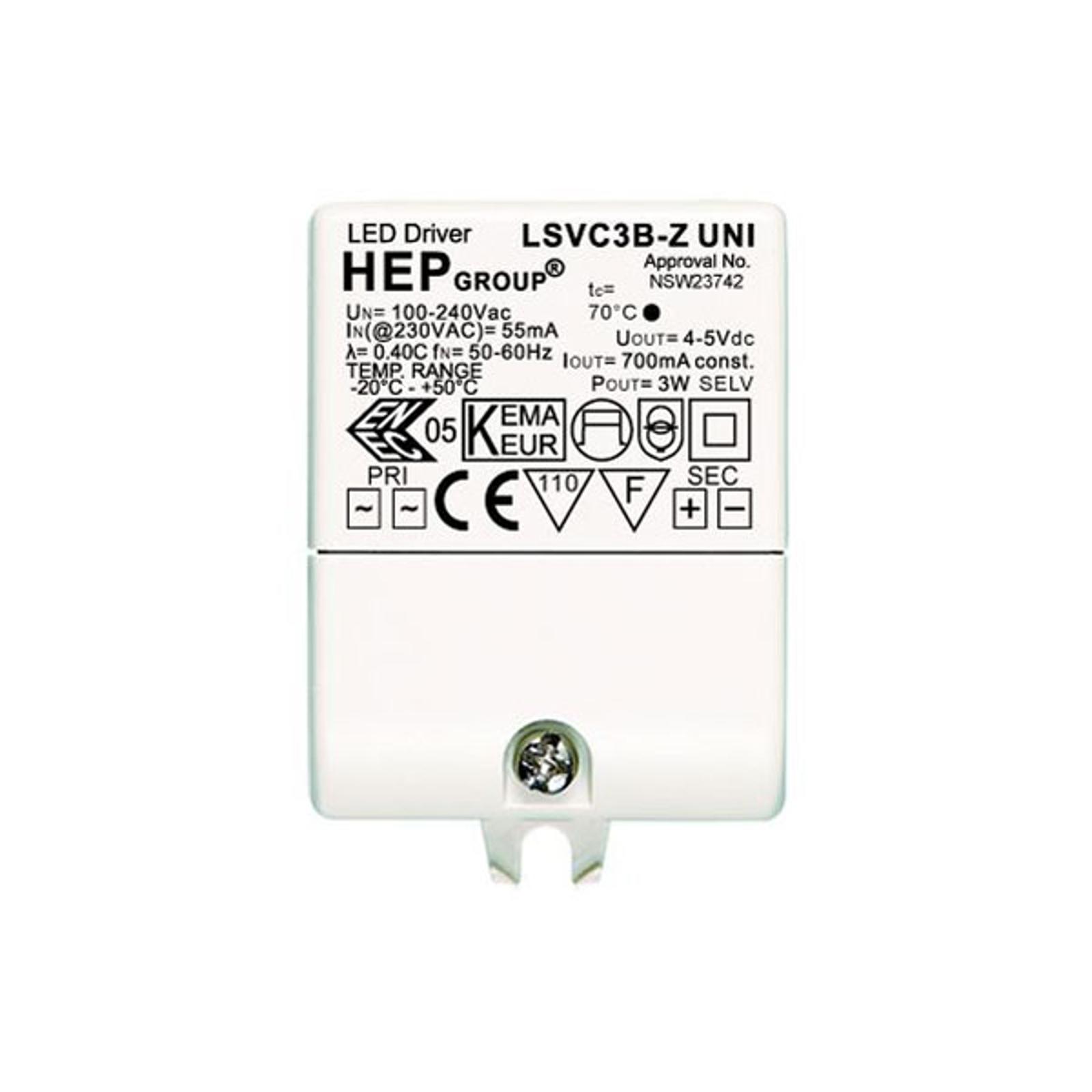 Driver LED 700mA 3W corrente costante