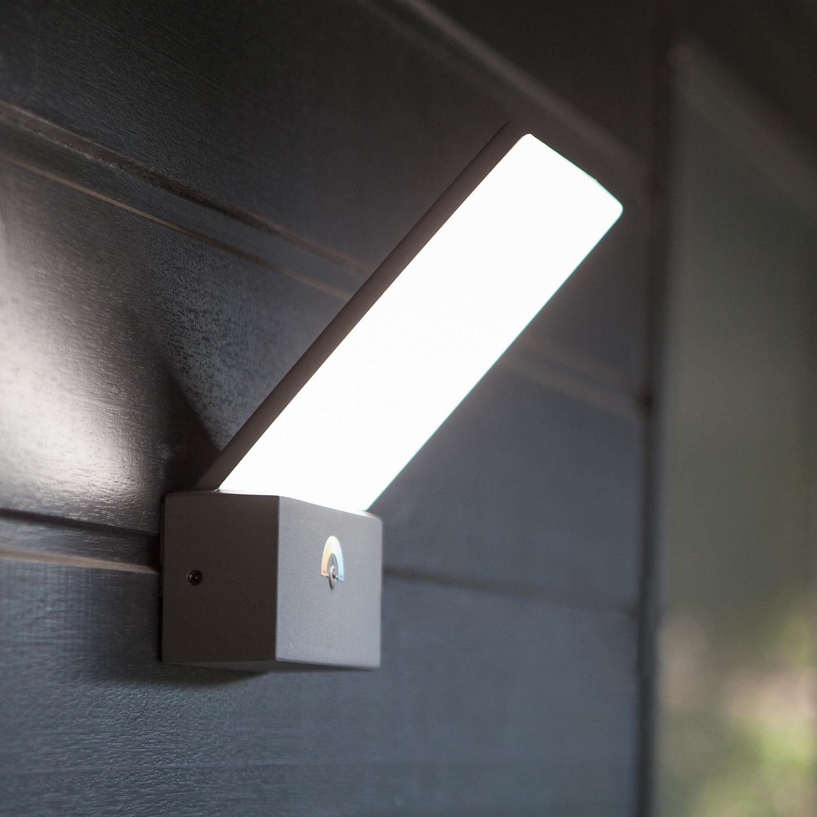 LED-vegglampe Pano, 3000K – 5000K