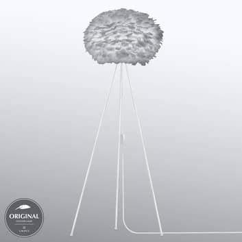 UMAGE Eos medium standerlampe, tre ben, lysegrå