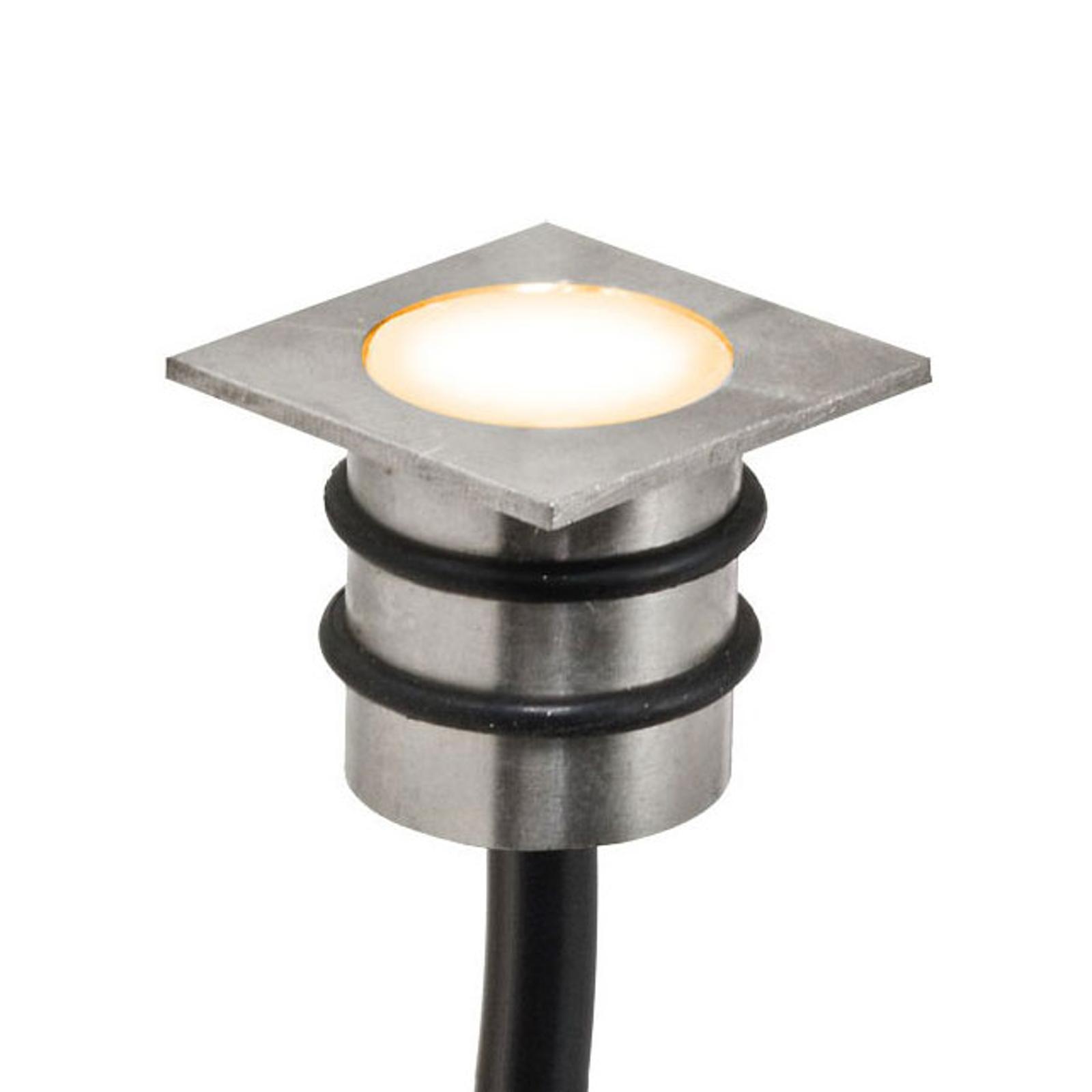 EVN LD4102 Einbaulampe 12V IP68 1,8x1,8cm 0,2W 830
