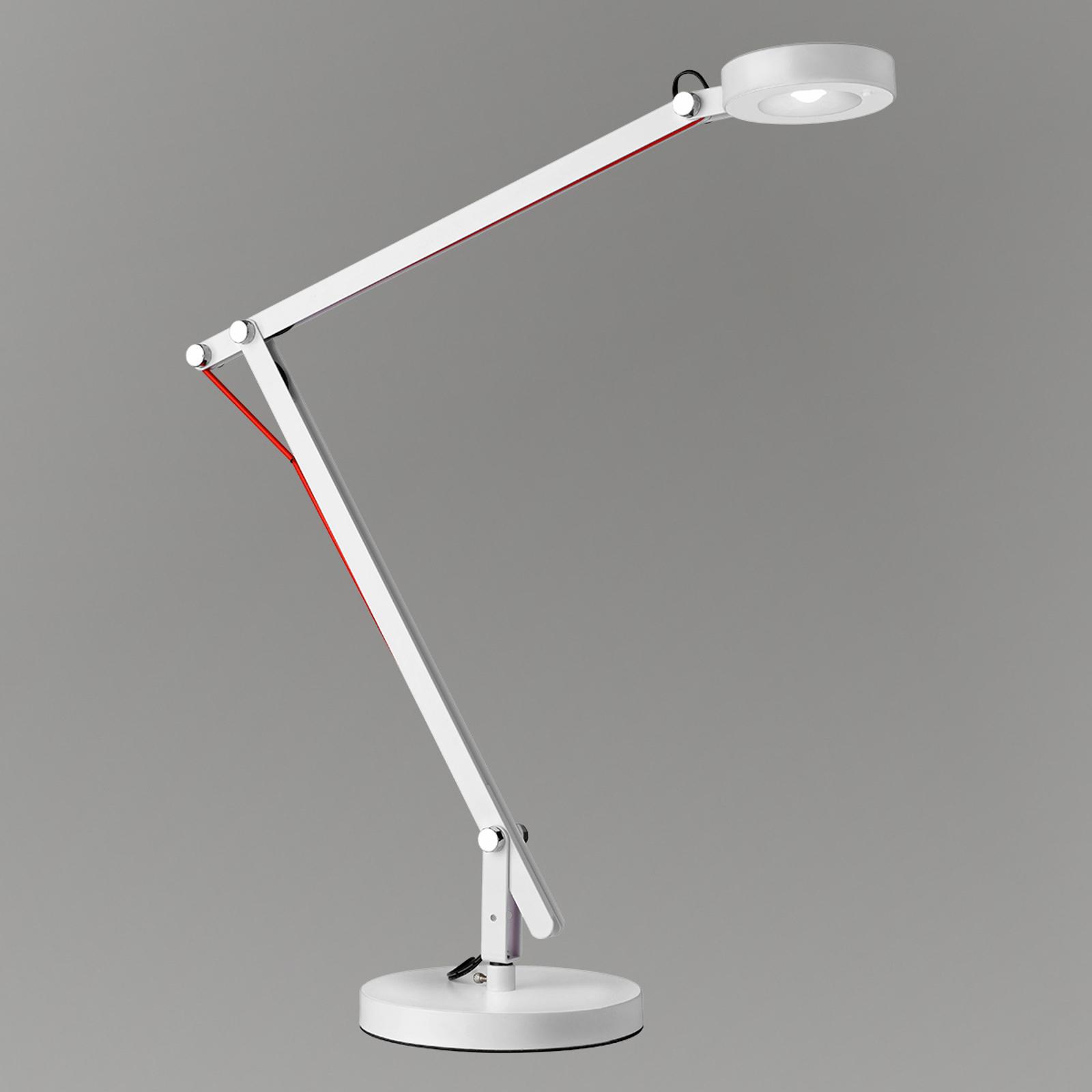 LED bureaulamp Stina, wit