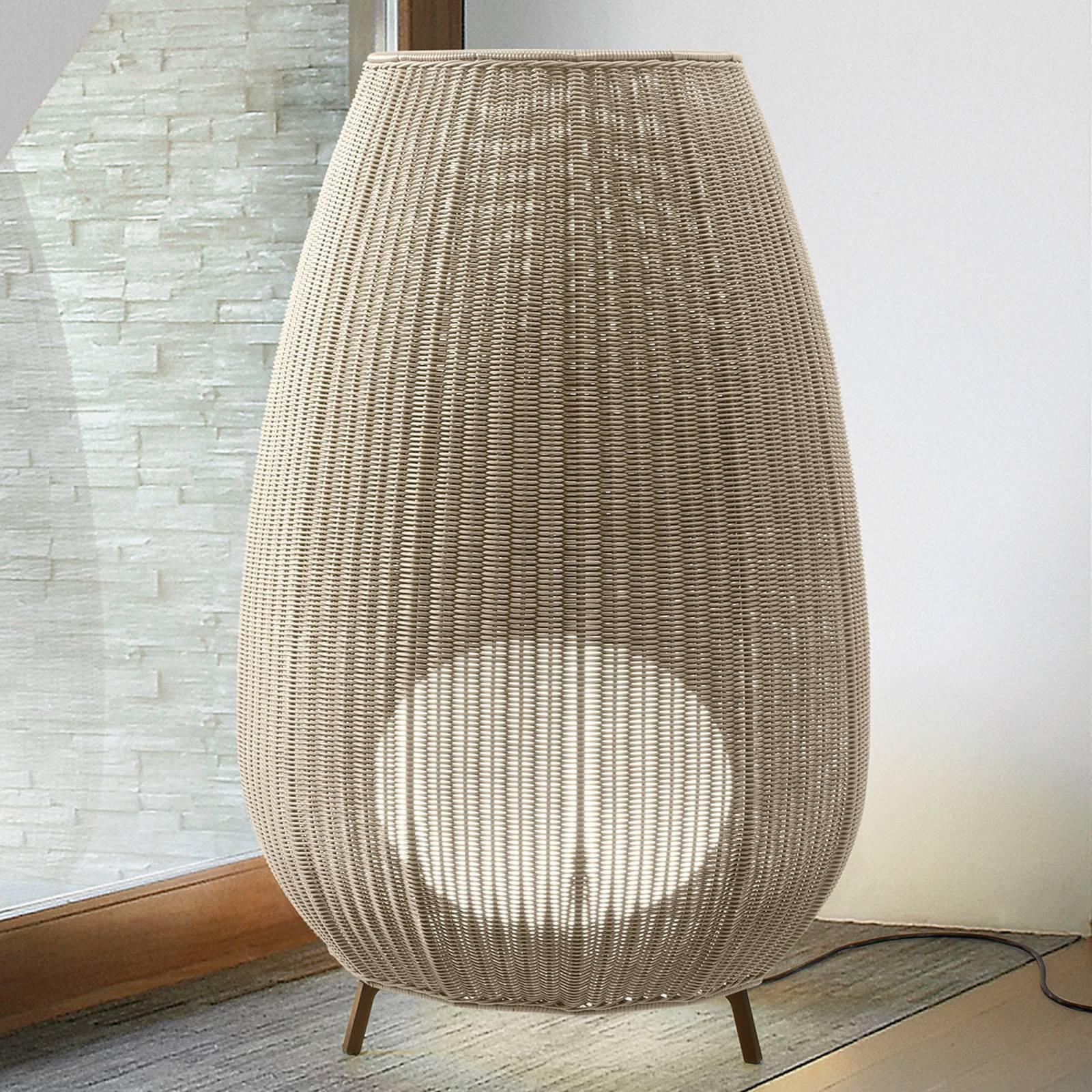 Bover Amphora 03 - Terrassenleuchte, light beige