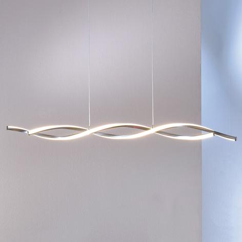 Filigrane LED-Hängeleuchte Polina