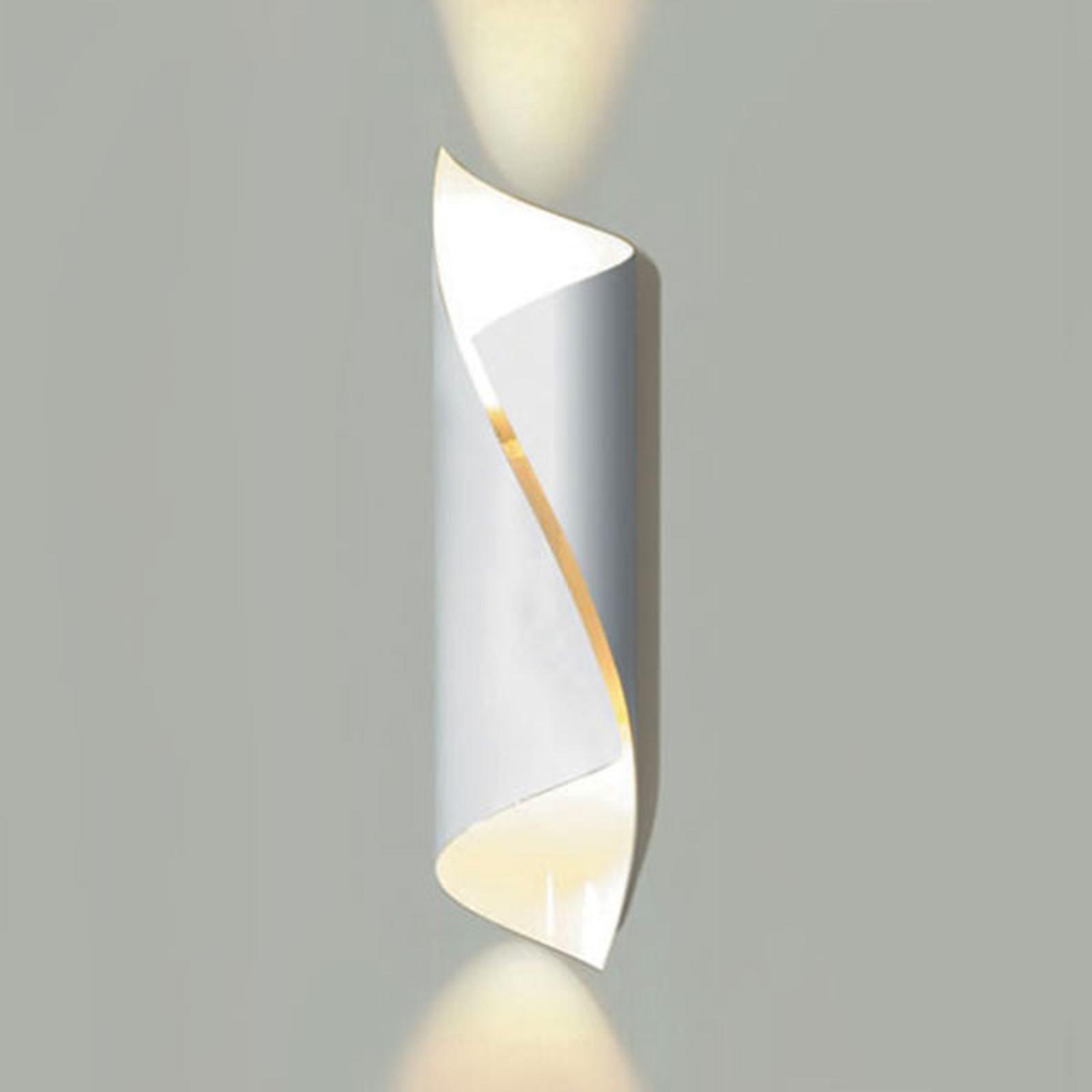 Knikerboker Hué LED-Wandleuchte Höhe 54 cm weiß