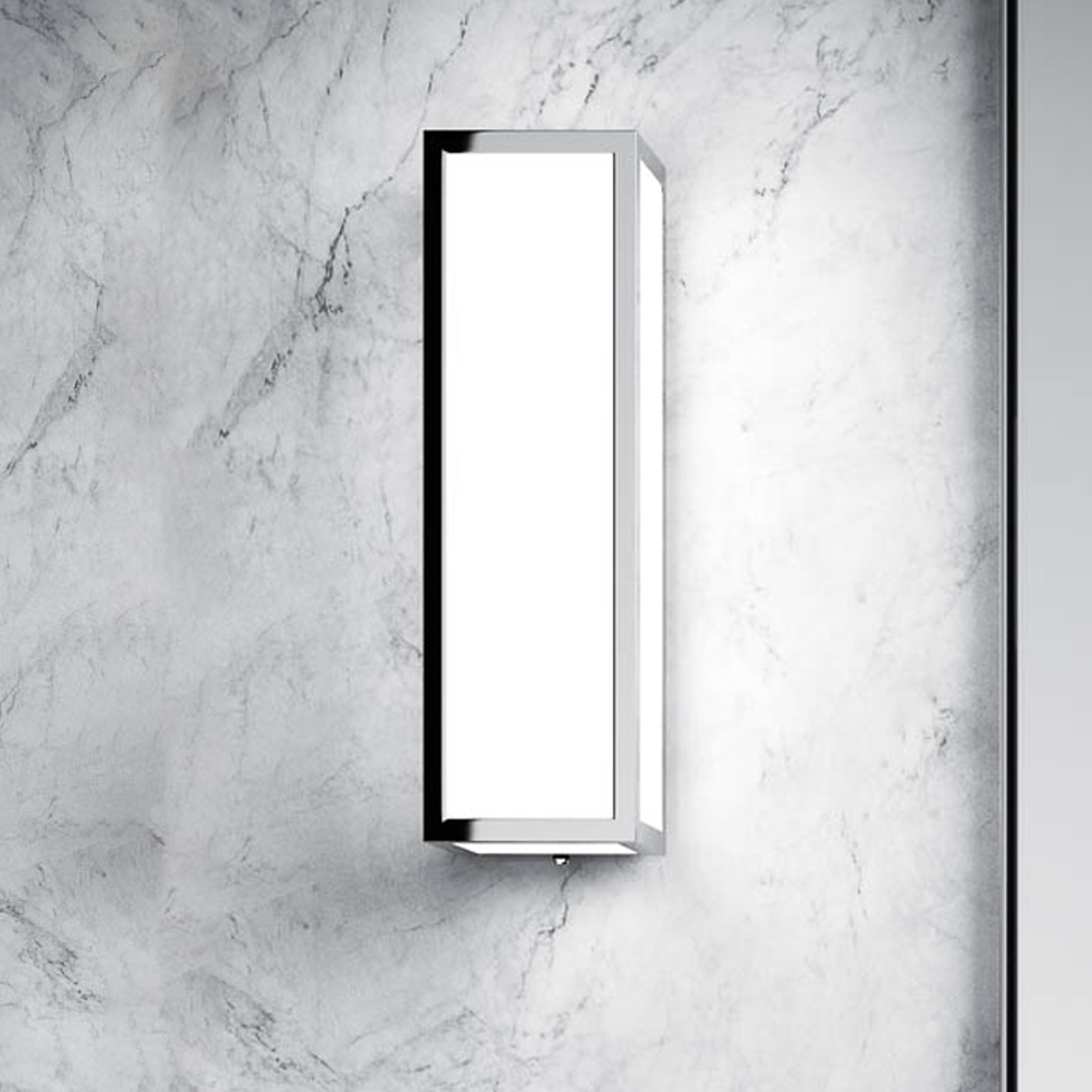 Decor Walther Bauhaus 20 N LED Wandleuchte, chrom