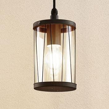 Lindby Yonan lampa wisząca na zewnątrz, E27
