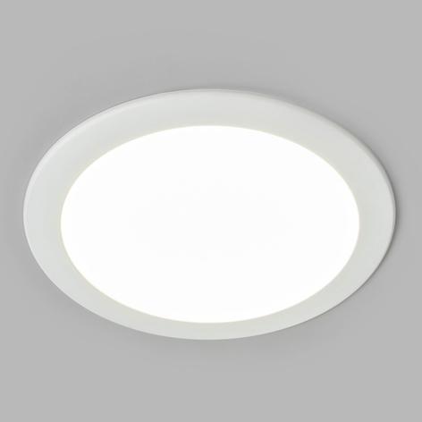 Spot encastré LED Joki blanc 4000K rond 24cm