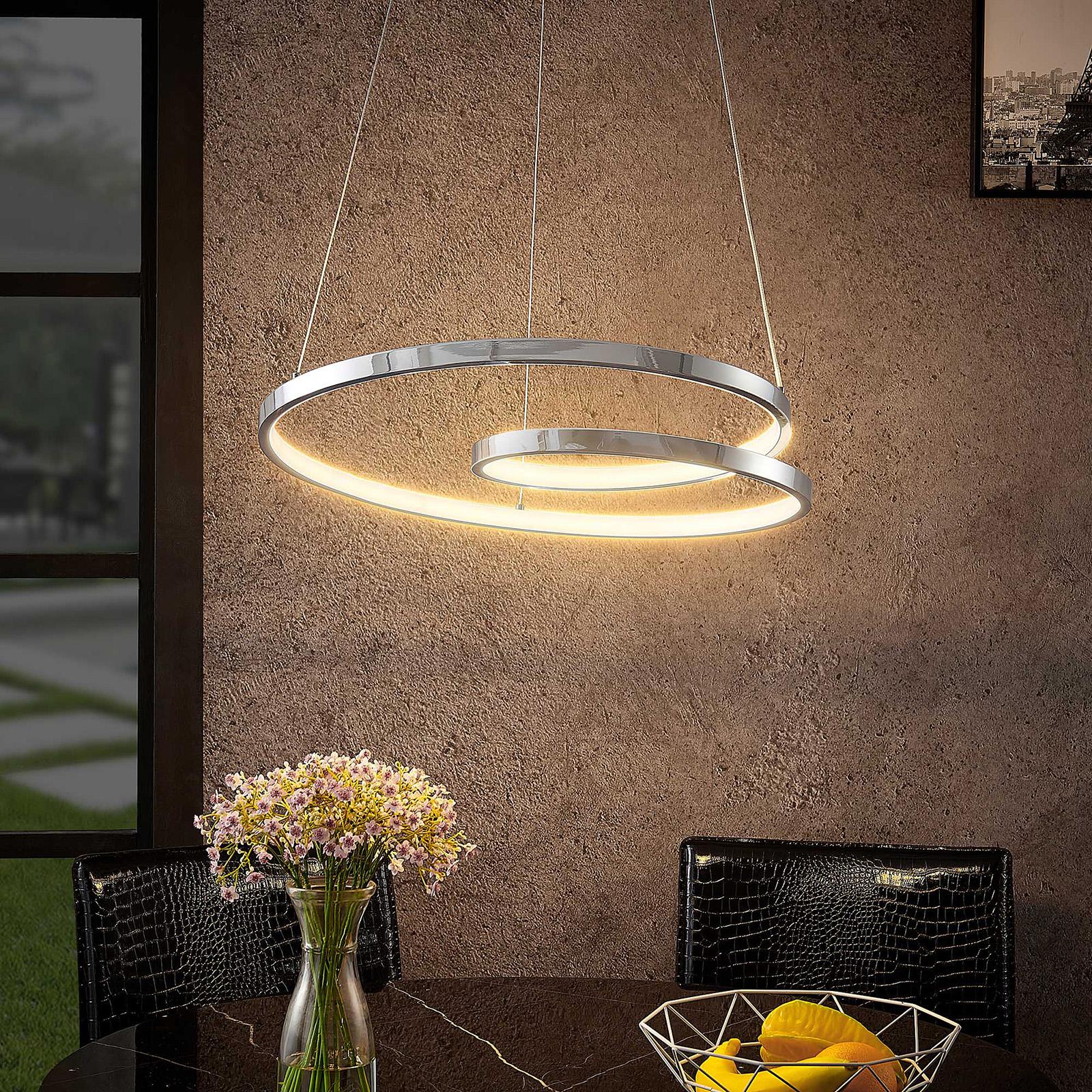 Lucande Maire lampa wisząca LED