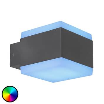Udendørs LED-væglampe Slice Tuya-Smart RGBW CCT