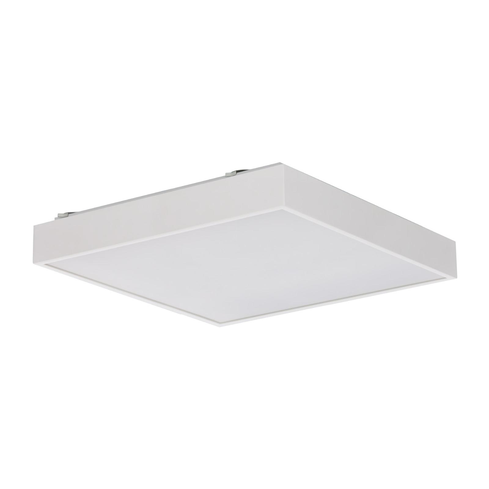 Kvadratisk Q5 LED-taklampe i hvitt EVG