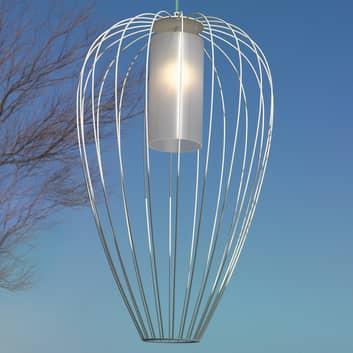Karman Cell - bur-hængelampe, Ø55 cm, hvid