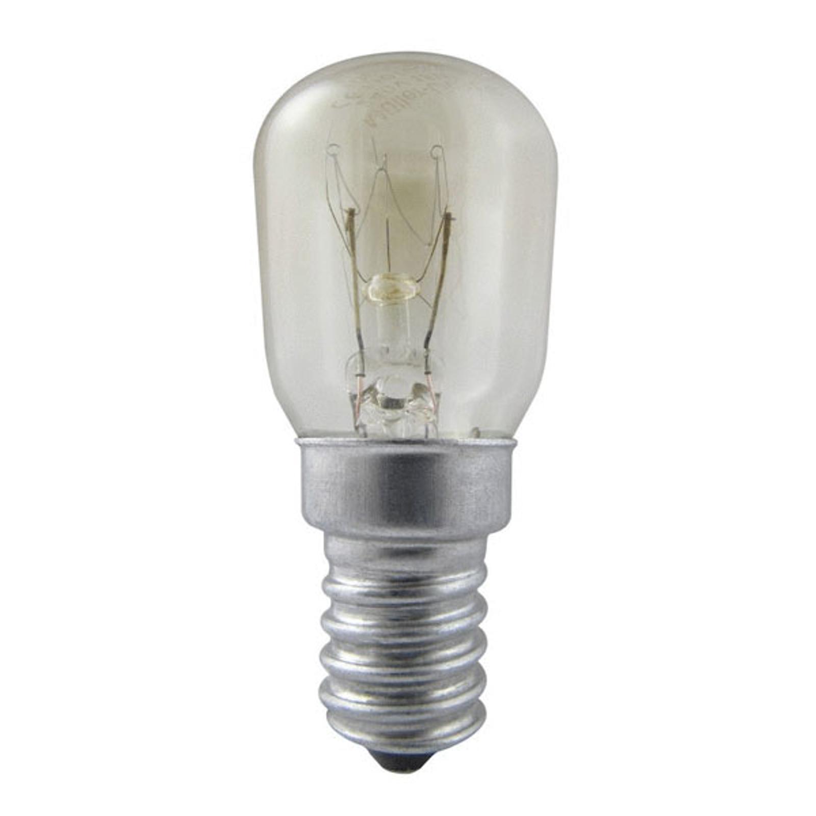 E14 15W Kühlschranklampe, klar, dimmbar