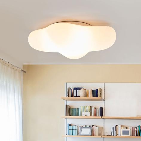 Deckenlampe Eos in Form einer Wolke, 50 cm