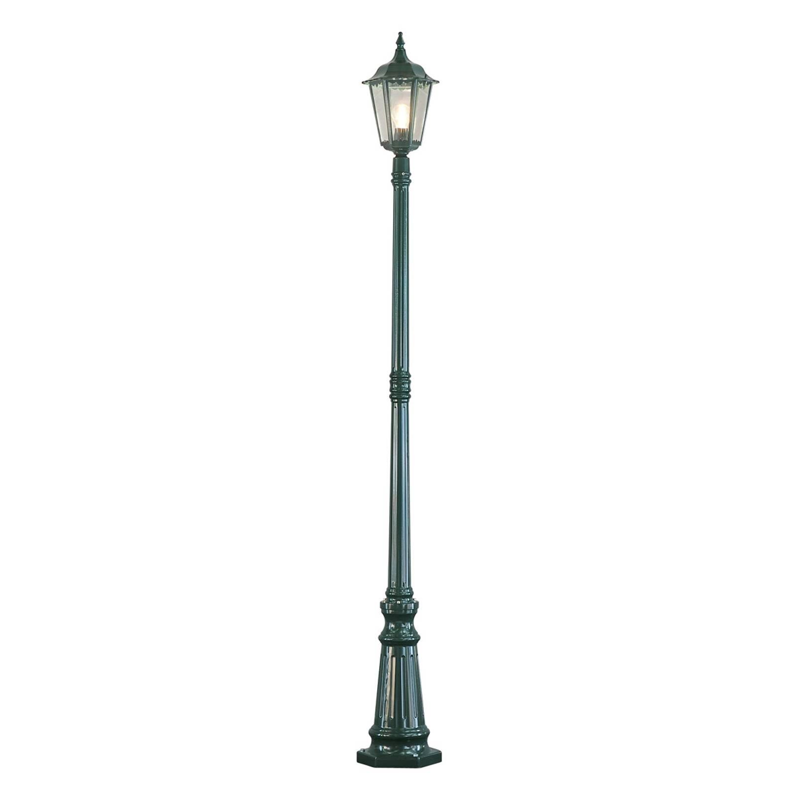 Mastleuchte Firenze, 1-flammig, grün