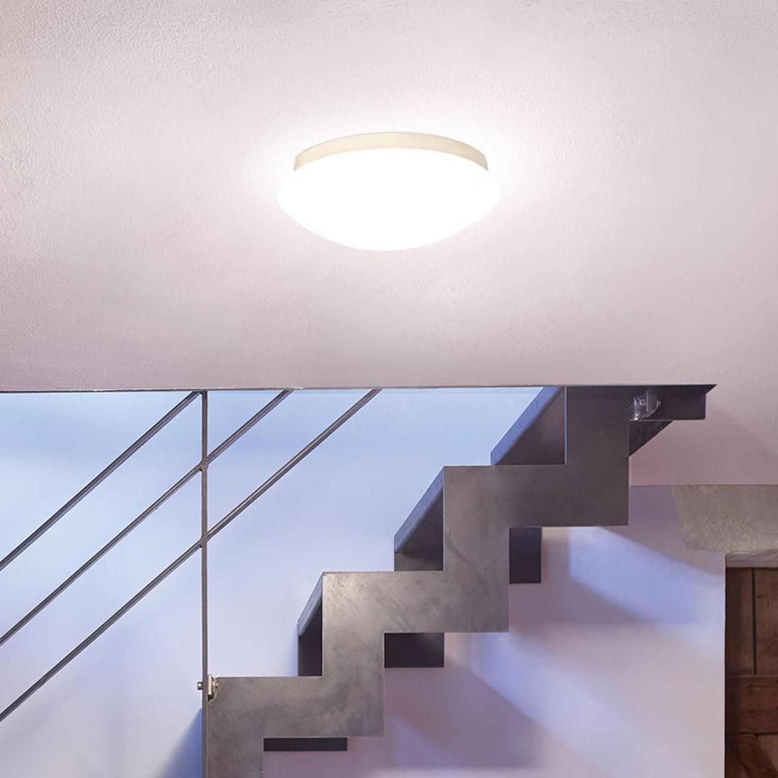 Plafonnier LED en verre RS 16 avec détecteur