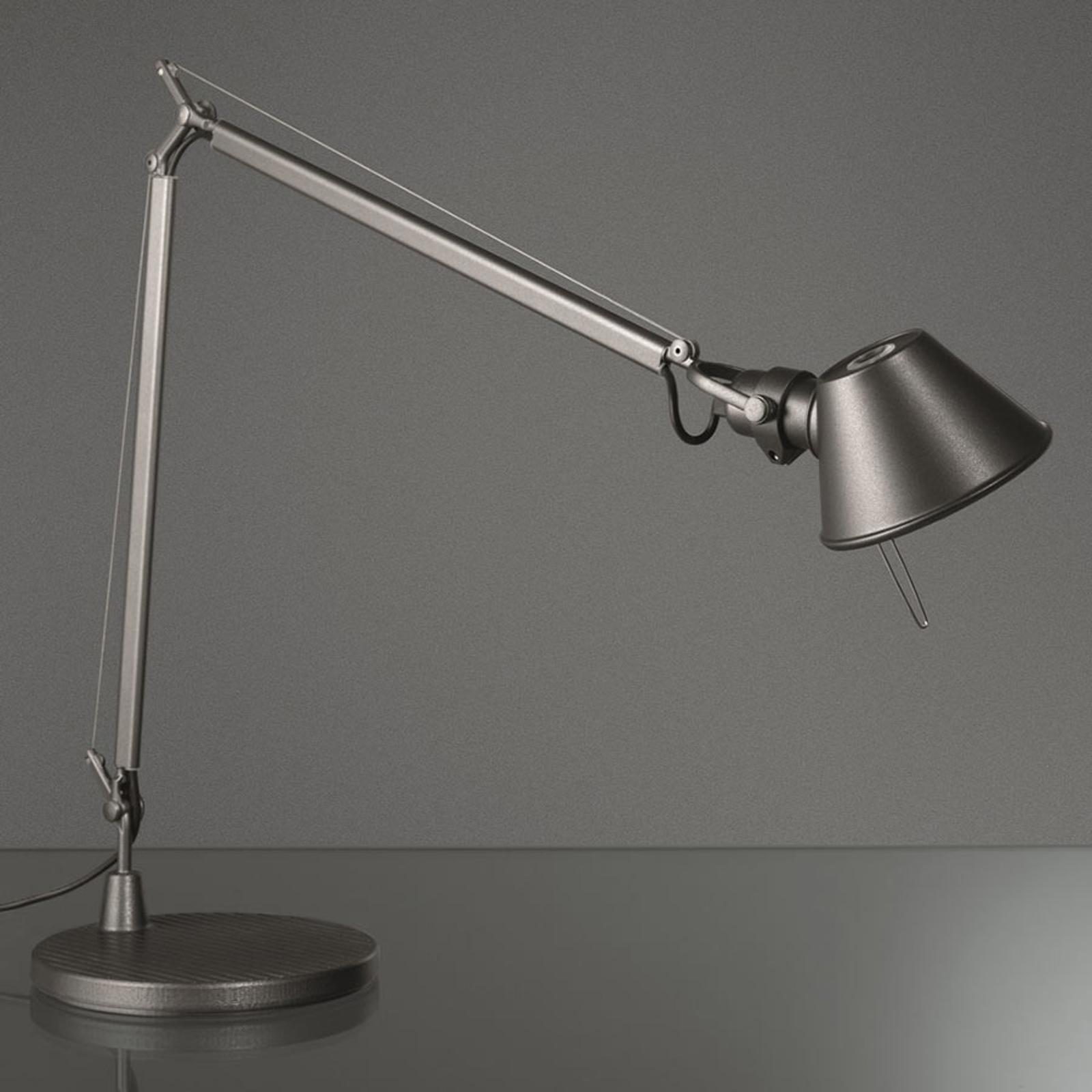 Artemide Tolomeo Midi LED-bordlampe, 3 000 K grå
