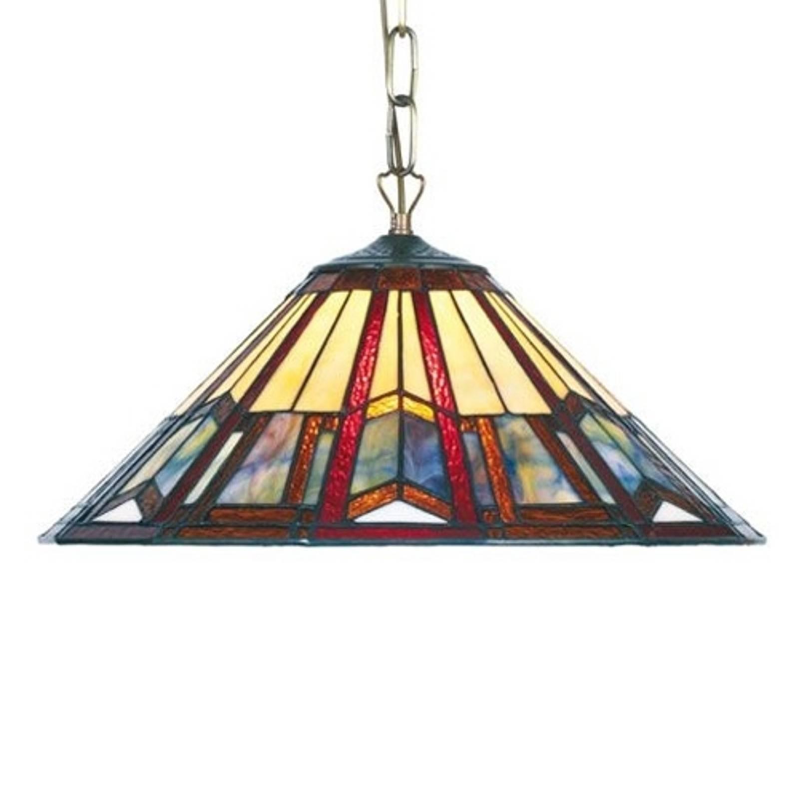 Lampada a sospensione Lillie stile Tiffany 1 x E27