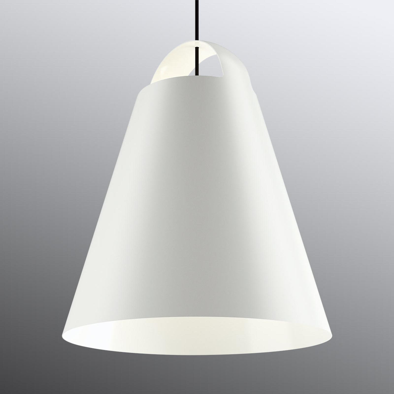 Witte design hanglamp Above 55 cm
