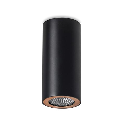 LEDS-C4 Pipe foco de techo 1 luz negro-oro