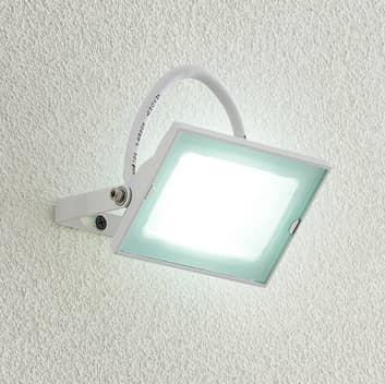 Lindby Aine LED-Außenspot weiß 7,7 cm