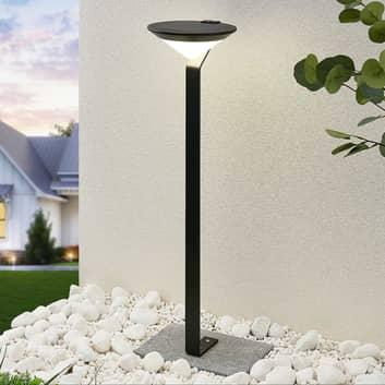 Lindby Clamor LED-solcelle-veilampe med PIR-sensor