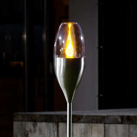 Stemningsfuld havelampe Jari, solcelledrevet