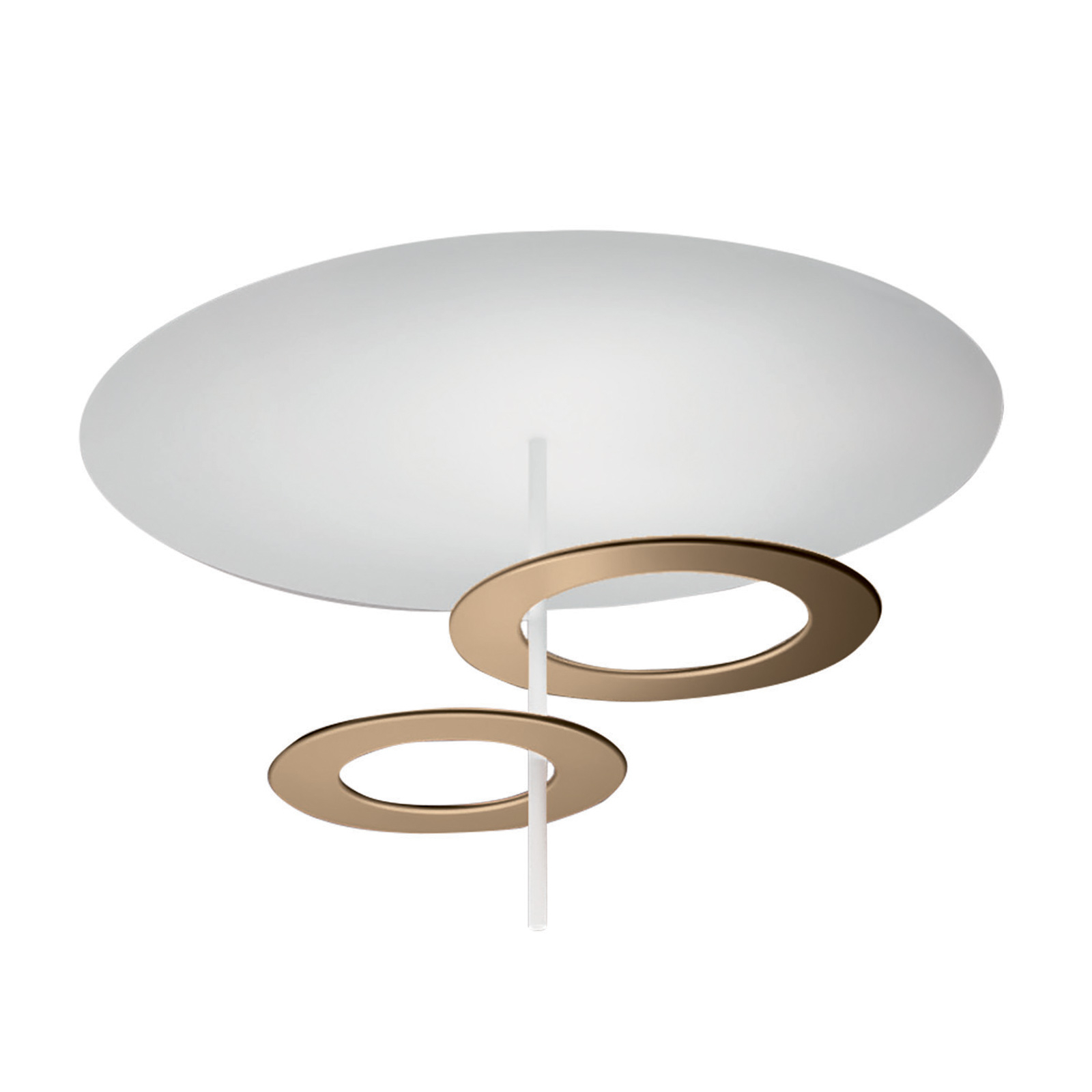 ICONE LED-Deckenleuchte Hula Hoop P2 - 2 Scheiben