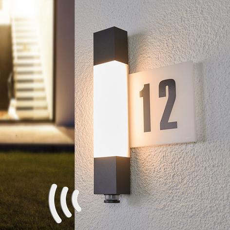 STEINEL L630 LED-husnummerlampe m. sensor